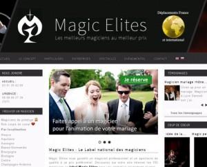 Site Web Magie