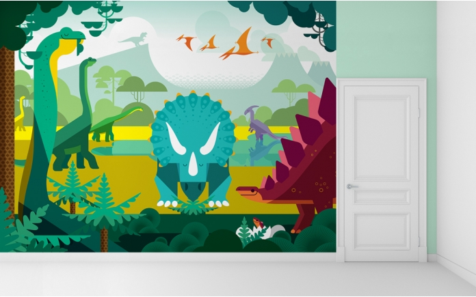 deco-enfants-decors-muraux-fresques-dinosaures