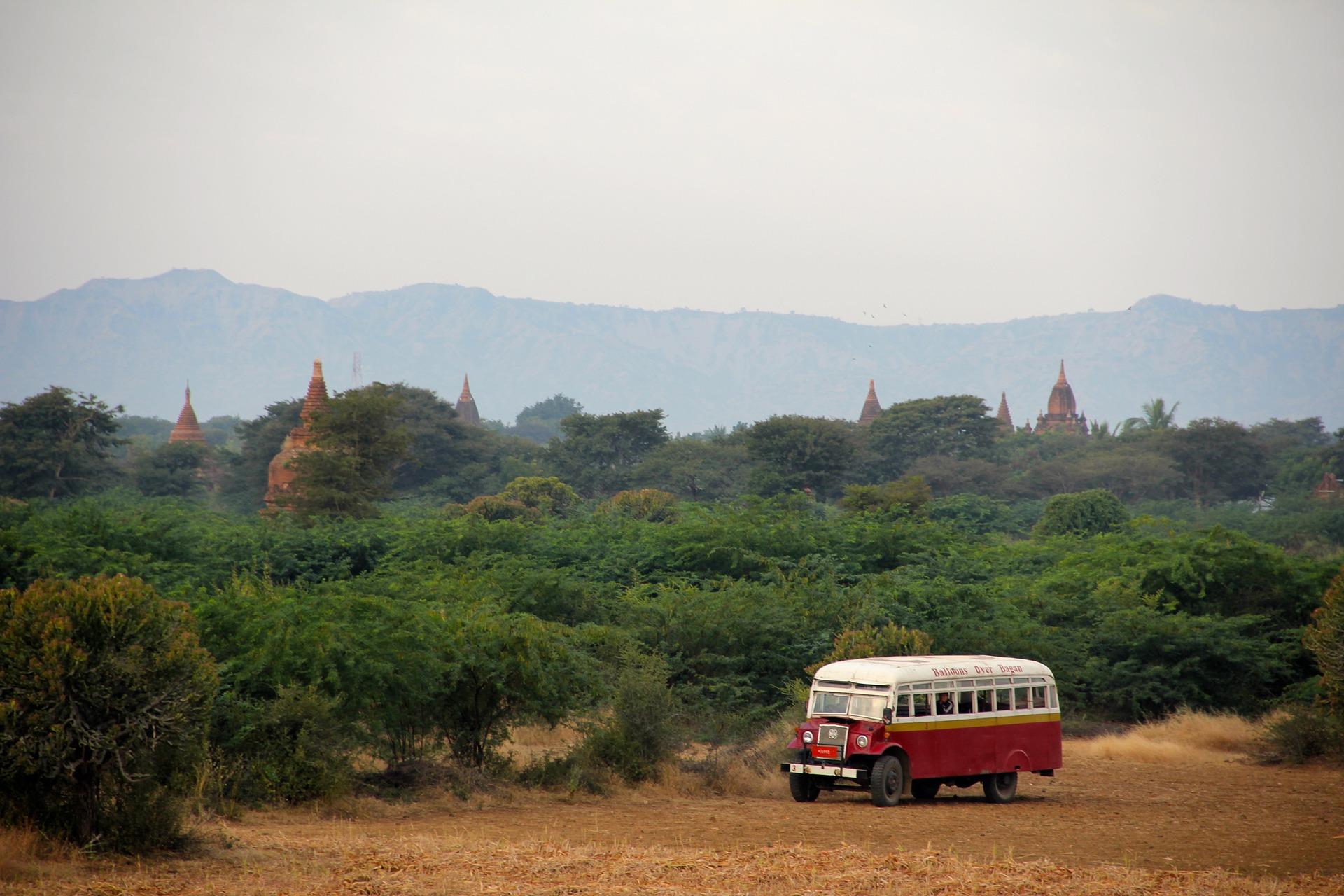 birmanie en voiture